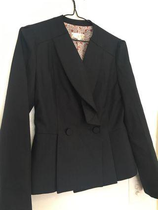 Double Breasted Blazer Korean Style