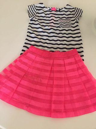 Top and skirt excellent condition