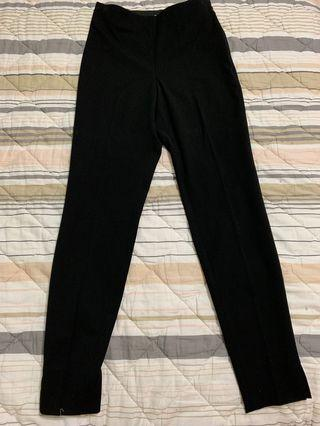 Black High Waisted Slacks BN (H&M)