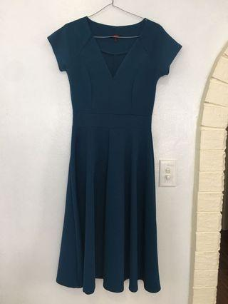 Teal Dress Size 8