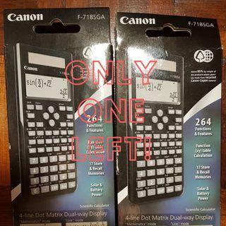 Canon Scientific Calculator F-718SGA