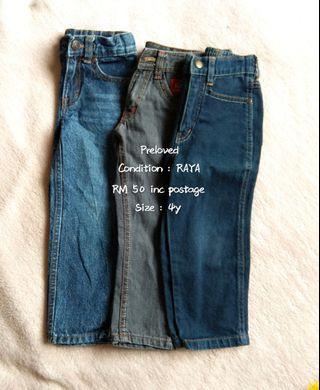 #GayaRaya Jeans  for boys