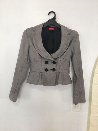 Cute Gingham Jacket/Blazer Size 8