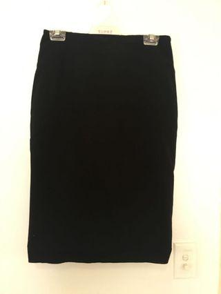 Cue Black Basic Skirt Size 10