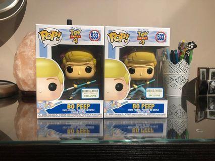 Bo Peep Barnes and Noble Toy story 4 Funko Pop