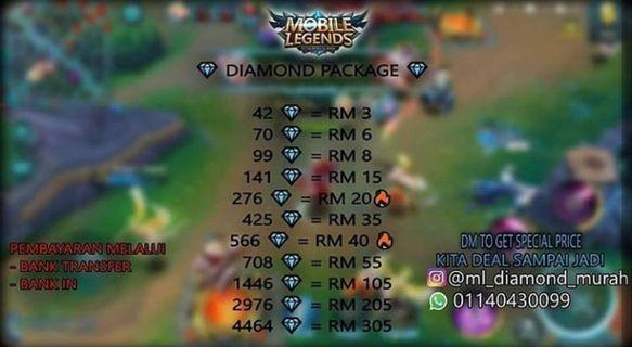 Diamond dan ahli starlight Mobile legends