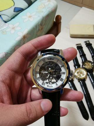 🚚 Mechanical Wristwatch (Relogios masculino De Ouro Winner Brand)