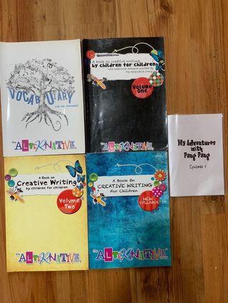 TAS Creative Writing books