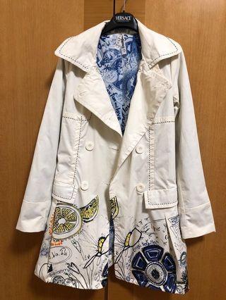 Desigual 白色長外套