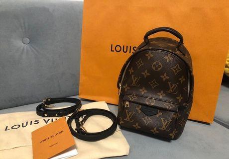 LOUIS VUITTON LV M41562 迷你後背包 mini小書包