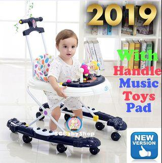 Baby Walker/New design with handle and pad/very stable/limited stock