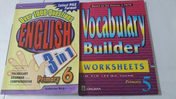 🚚 Pri 6 English and primary5 Vocabulary
