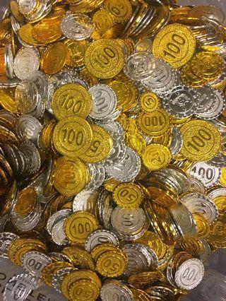 玩具金幣 大量