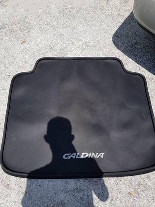 rear bonet carpet caldina