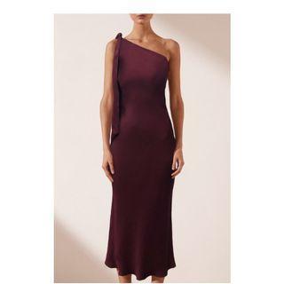 Brand New Shona Joy Burgundy Dress