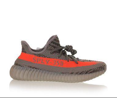Adidas Yeezy Boost 350 V2 灰橙
