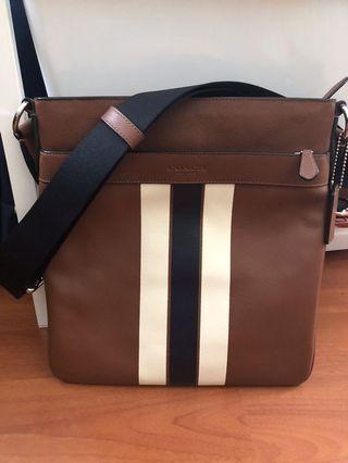 Coach Varsity Stripes Sling Bag