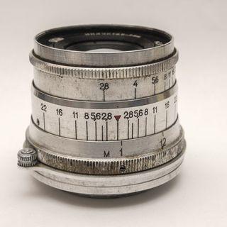 INDUSTAR-26m f2.8 50mm 紅ㄇ L39卡口