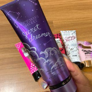Victoria's Secret perfume body lotions