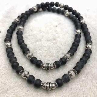 stone needle Amulet Necklace