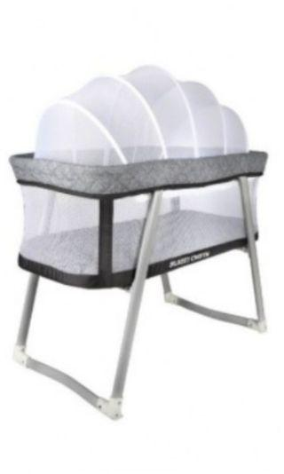 SC159 Baby cot / cradle bed with rocking system
