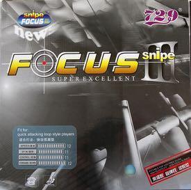 🚚 729 Focus Snipe 3 Table Tennis Rubber