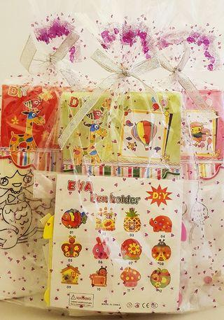Goodie bag, goody bag, colouring bag, pencil holder, birthday packs