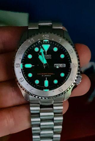 SKX 007 SKX007J custom/ tradeable with SRPC48J with topups