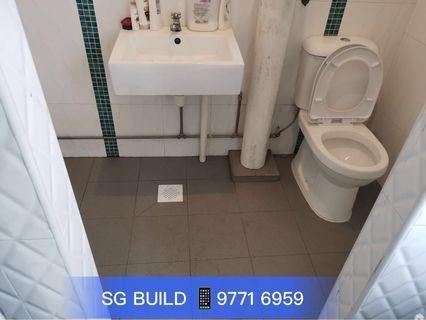 🎉RAYA PROMOTION 🎉Toilet 🚾Overlay flooring + Basin + Toilet Bowl