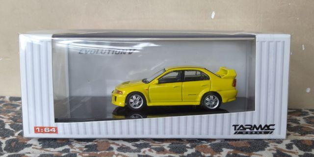 1:64 Tarmac Works Mitsubishi Lancer Evolution V
