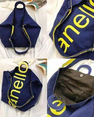 "Anello ""O"" Handle 2 way Tote bag. tas import keren merk anello"
