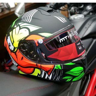 西班牙品牌MT Helmet  TRUCK A2 MATT FLUOR YELLOW