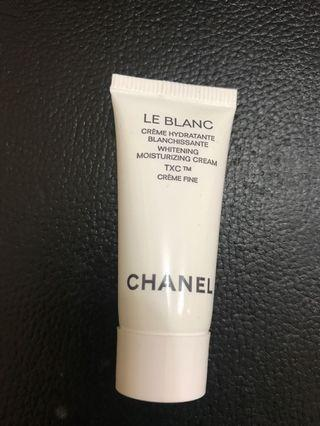 Chanel whitening mosturizing cream
