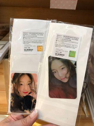 Taeyeon 'sone concert card holder