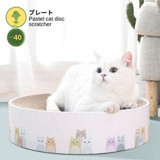 🚚 Pastel Cat Disc Scratcher