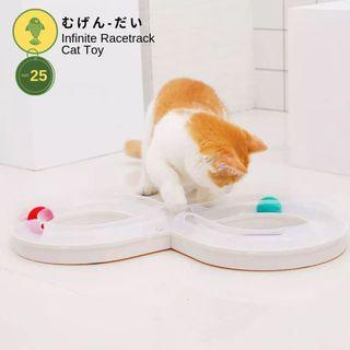 🚚 Infinite Racetrack Cat Toy
