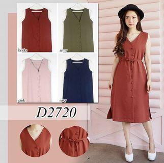 Casual Ladies Button Down Dress
