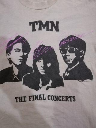T-shirt band vintage TMN