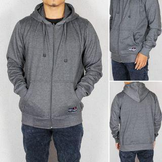 Zipper Hoodie Mothbless Jaket Premium