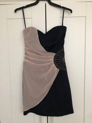 Agneselle Embellished Tube Dress