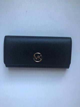 Michael Kors Fulton Flap Continental Leather Wallet