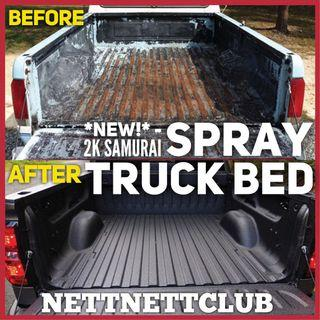 #1 Professional Samurai Spray Paint - Truck Bed! 🎨 ** 100% CHEAPEST! **