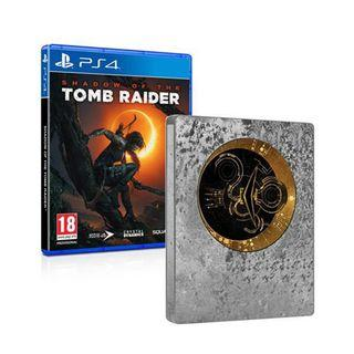 Shadow Of the Tomb Raider PS4 Steelbook Edition
