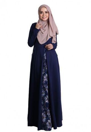 Arabella Jubah dress - size M but loose cutting #GayaRaya