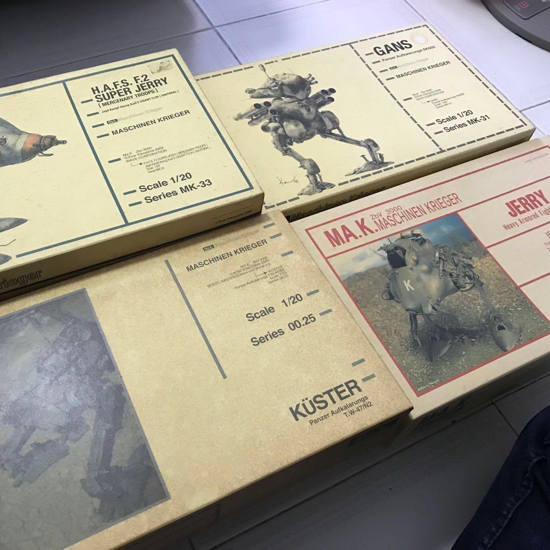 1/20 Maschinen Krieger Ma.k SF3D (not Gundam Bandai 1/100)