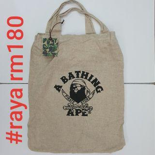 #RAYA180 BAPE PIRATE STORE Original Shopper Large Sack Tote