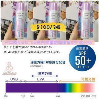 【日本製🇯🇵Naris up亮白保濕防曬噴霧SPF50+PA】