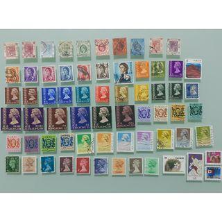 香港/英國/加拿大郵票全部共HKD$90.00
