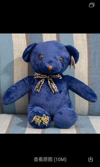 🚚 Blue bear soft toy