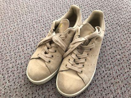 Adidas Stan Smith Beige suede